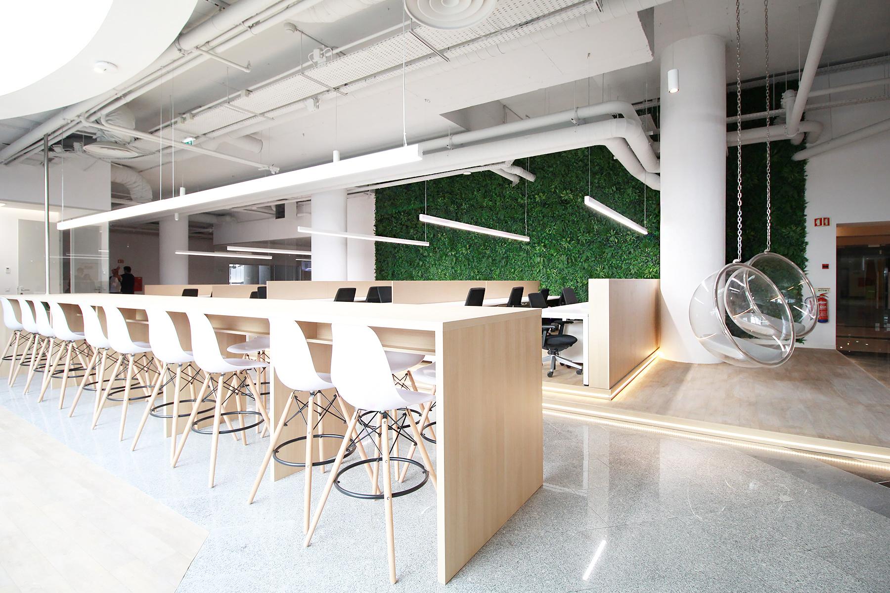 Ideia hub hot desks